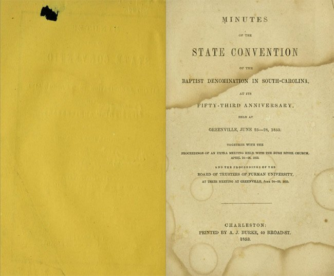 183 SC Baptist Convention