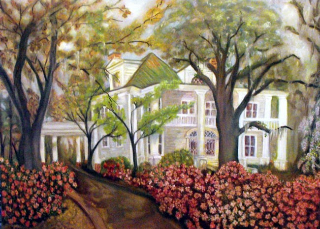 Admiral's House Painting