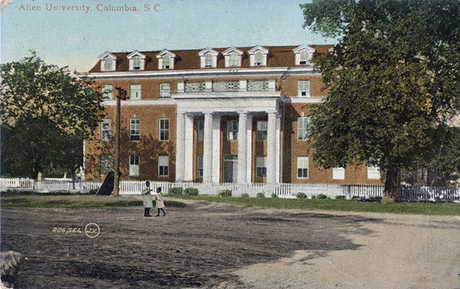 Allen University Postcard