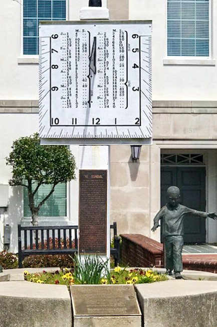 Barnwell County Courthouse Sundial