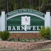 Barnwell Welcome SIgn