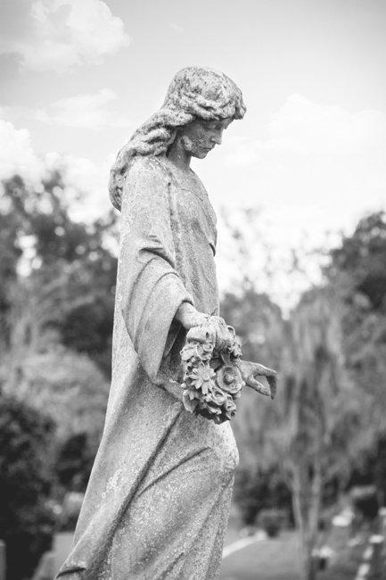 Bethany Cemetery Statuary