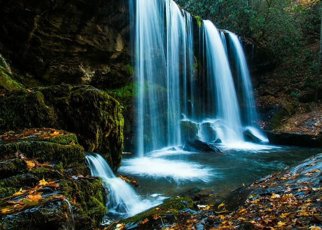 Brasstown Waterfall
