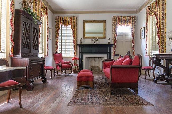 Bratton House Living Room