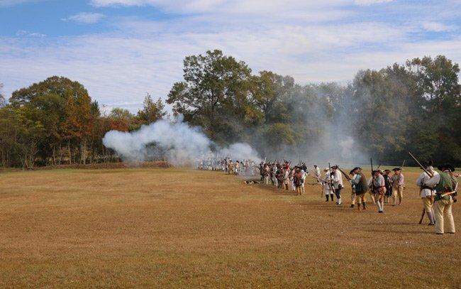 Camden Revolutionary War Battle
