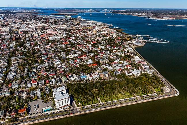 Charleston White Point Garden
