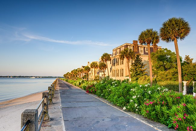 Charleston East Battery