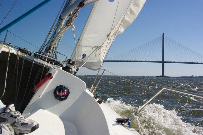Charleston Harbor Sailing