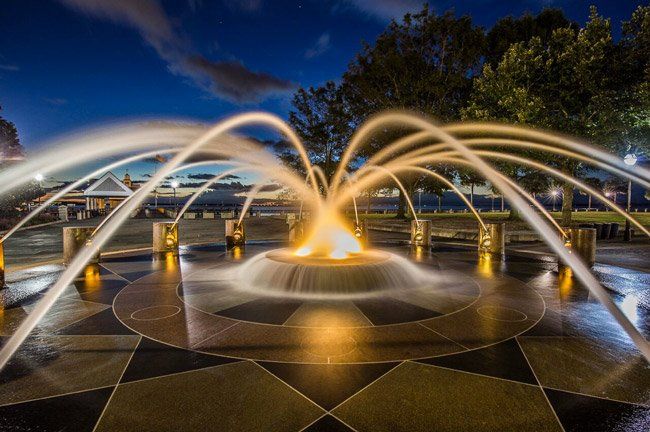 Charleston Splash Fountain
