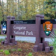 Congaree Park Sign