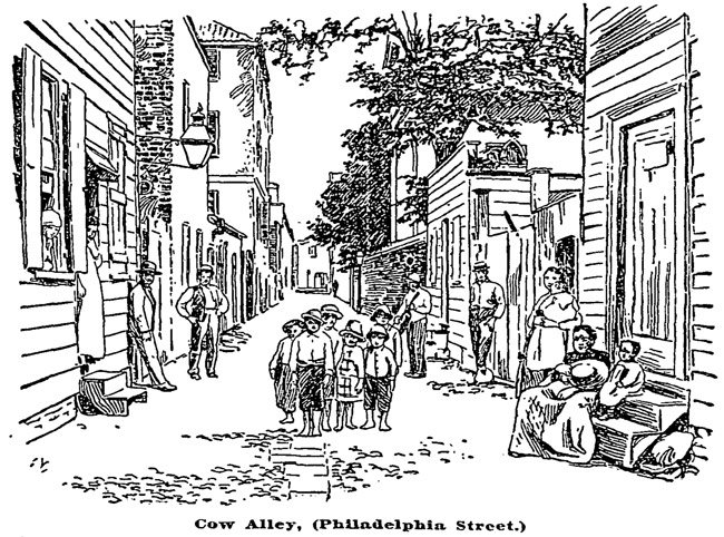 Cow Alley Charleston, 1894