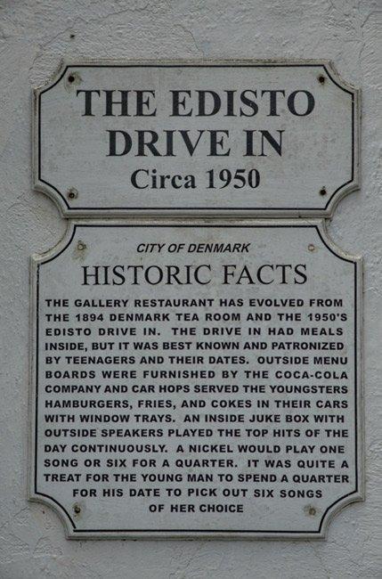 Edisto Drive In Sign