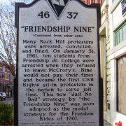 Friendship Nine Historic Marker
