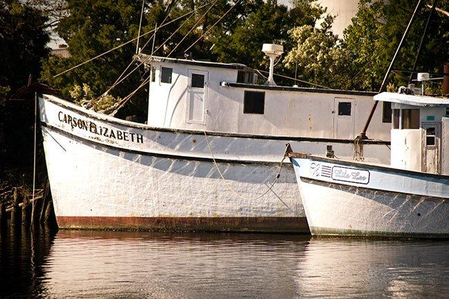 Georgetown Harborwalk Shrimp Boats