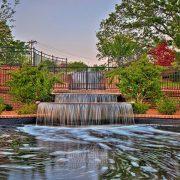 Tiered Fountain, Glencairn Garden