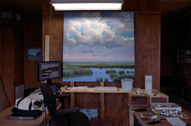 Jim Harrison Gallery Interior