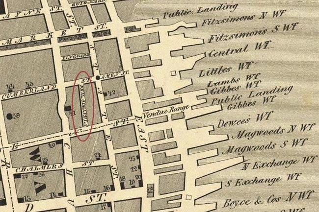 Keenan Map Philadelphia Street