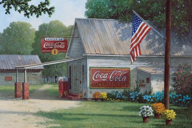 Lancaster Store Painting