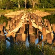 Langley Pond Exposed Trestle