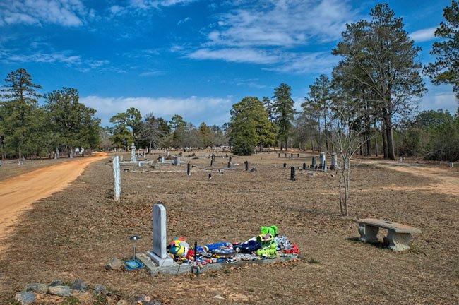 Little Boy Grave Graniteville