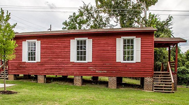Little Red Schoolhouse Side View