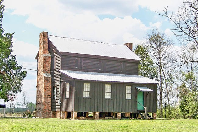 Marsh Johnson House seen from the rear