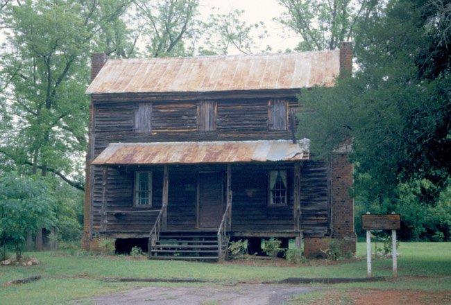 Marsh-Johnson House Pre-Restoration