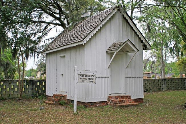 Miss Arnold's School House