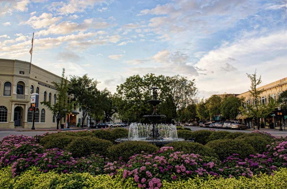 Morgan Fountain