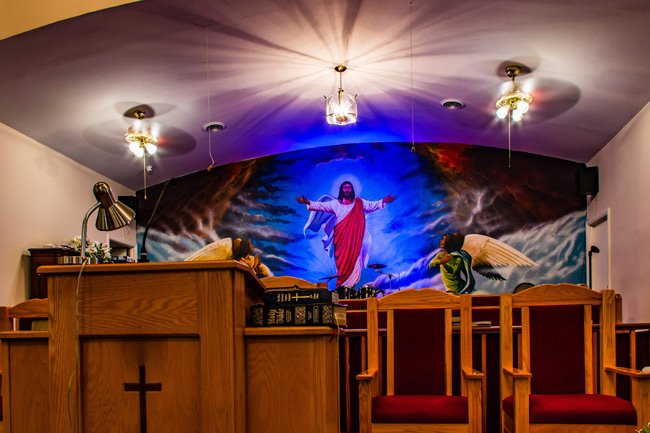 New First Missionary Pulpit