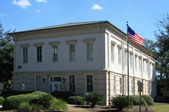 Old Beaufort County Courthouse