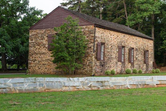 Old Stone Church Rear
