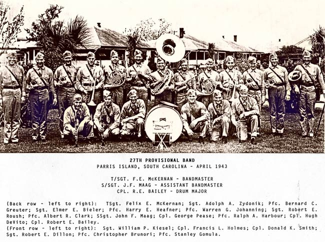 Parris Island Marine Band