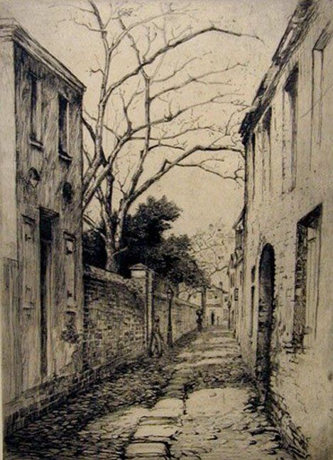 Philadelphia Street by Elizabeth Verner