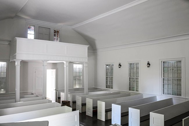 Pineville Chapel Interior