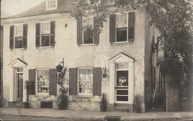 Pirate House Historic Photo