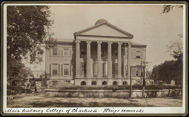 Randolph Hall, 1886
