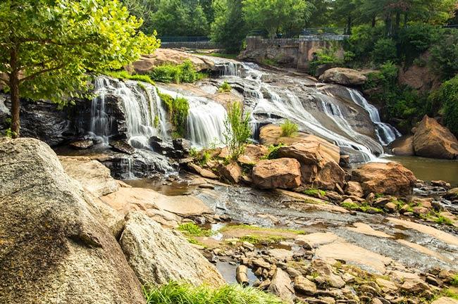 Reedy River Falls Greenville County