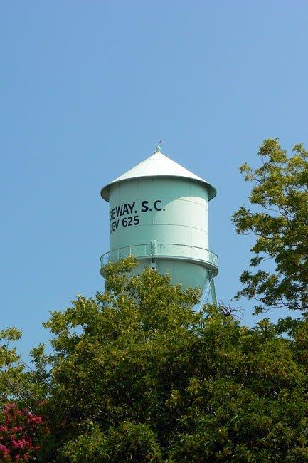 Ridgeway SC Watertower