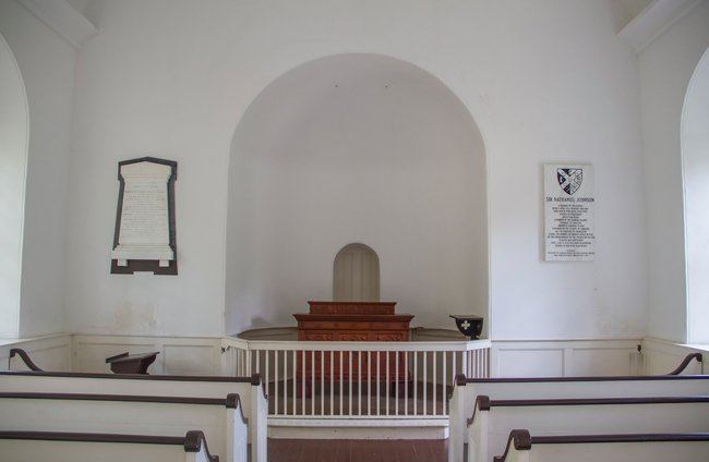Saint Thomas Saint Denis Interior