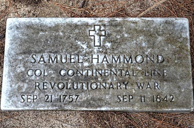 Samuel Hammond Grave