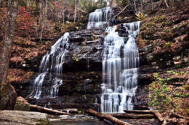 Station Cove Waterfall