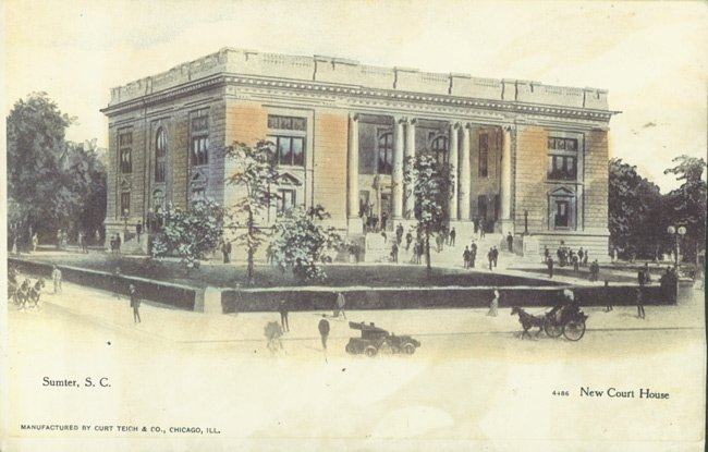 Sumter Courthouse Postcard