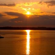Sunset over Lake Keowee
