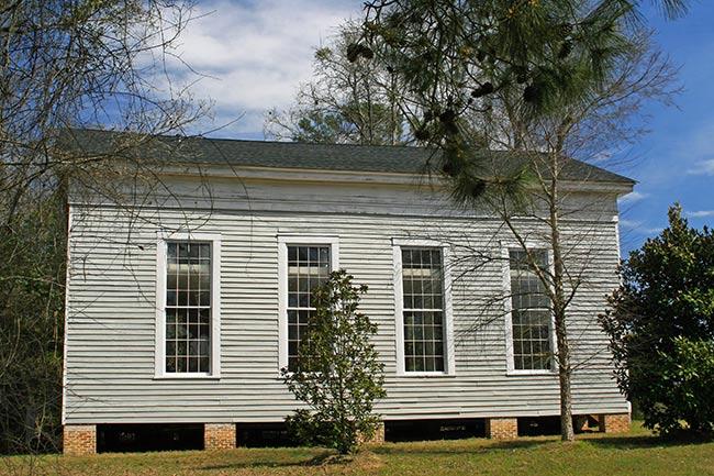 Swift Creek Baptist Church, Side