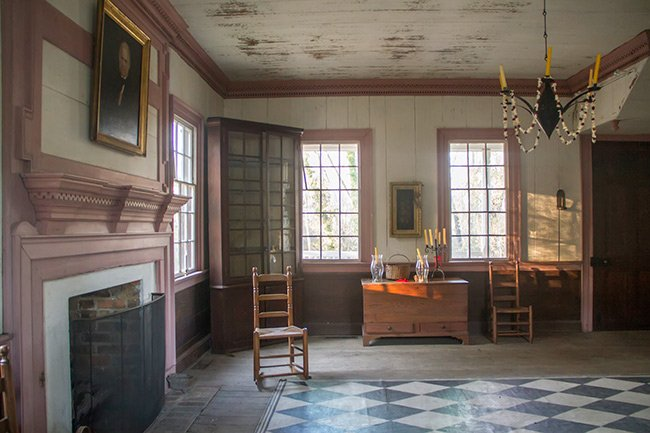 Thorntree Plantation House Interior