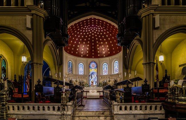 Trinity Cathedral Interior