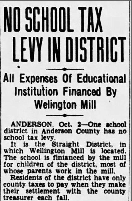 Wellington School Newspaper Clip