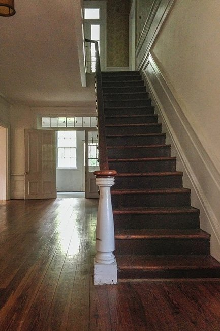 White Gables Staircase