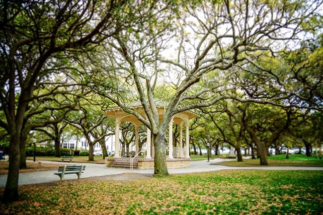White Point Garden Bandstand